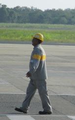 Healthy walking posture