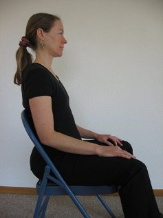 healthy sitting posture