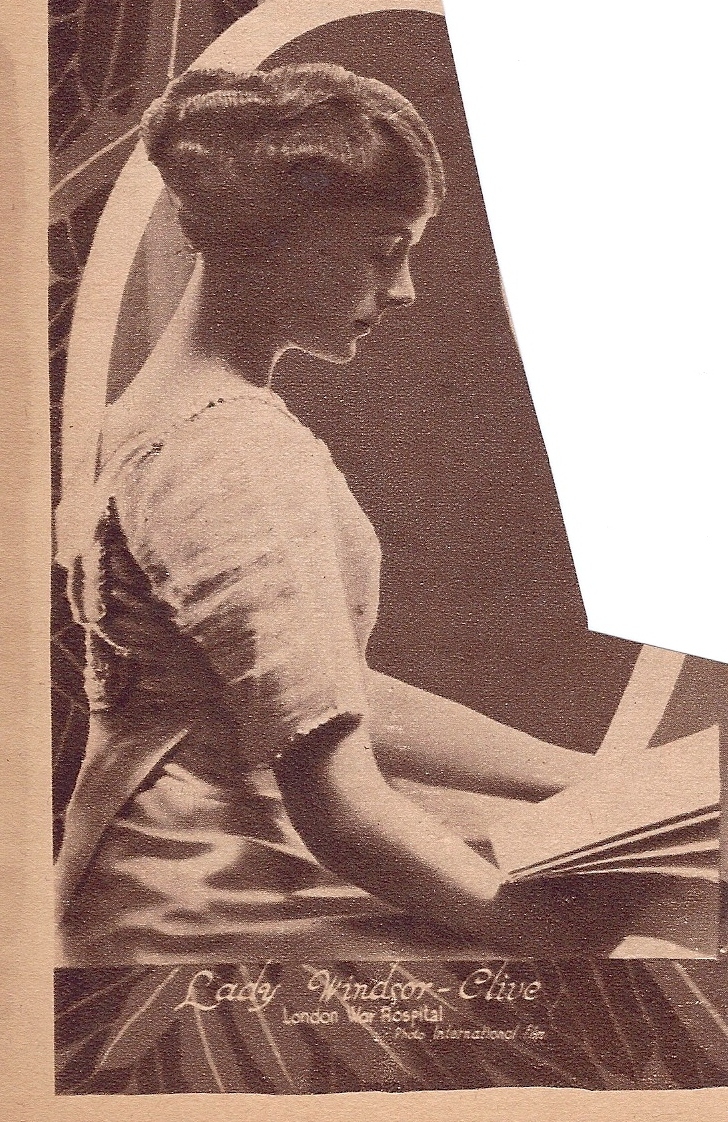 Healthy sitting in 1918